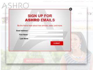 Shop at ashro.com
