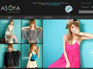 Shop at asoya.com