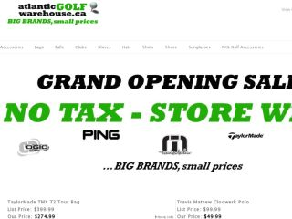 Shop at atlanticgolfwarehouse.ca