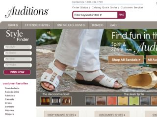Shop at auditionsshoes.com