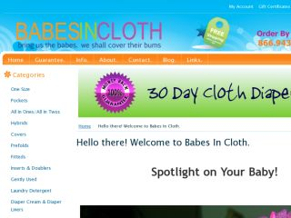 Shop at babesincloth.com