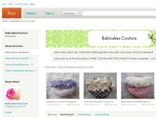 Shop at babicakescouture.etsy.com