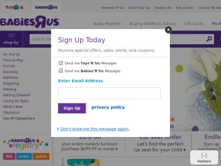 Shop at babiesrus.com