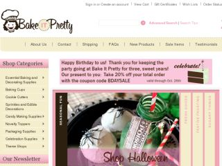 Shop at bakeitpretty.com