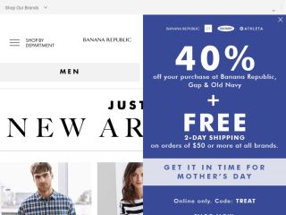Shop at bananarepublic.com