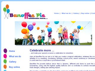 Shop at banoffee-pie.co.uk