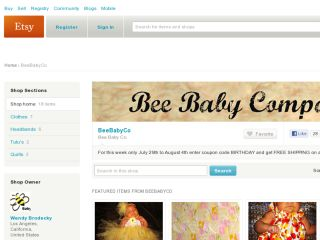 Shop at beebabyco.etsy.com