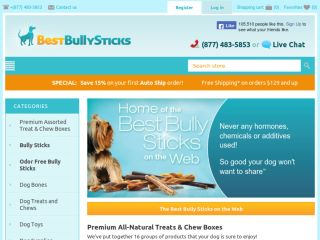 Shop at bestbullysticks.com