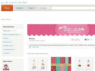 Shop at bizuza.etsy.com