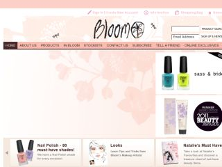 Shop at bloomcosmetics.com