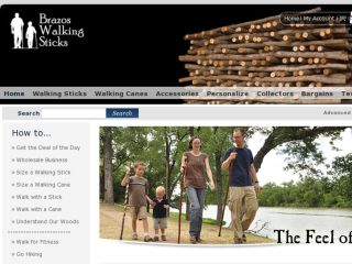 Shop at brazos-walking-sticks.com