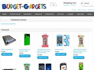Shop at budget-gadgets.co.uk