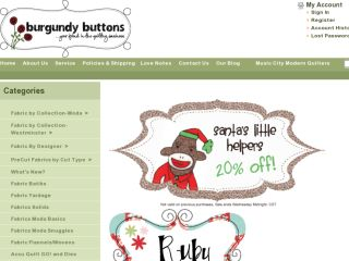 Shop at burgundybuttons.com