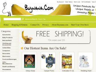 Shop at buynana.com