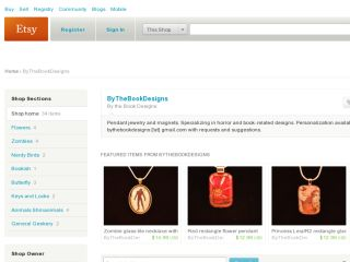 Shop at bythebookdesigns.etsy.com