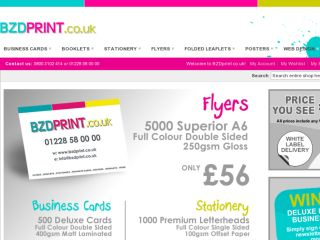 Shop at bzdprint.co.uk