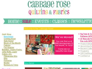 Shop at cabbagerosequilting.com