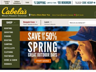 Shop at cabelas.com