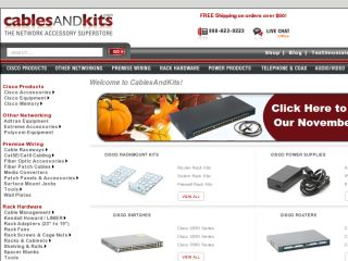 Shop at cablesandkits.com
