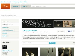Shop at cacentralcoastsilver.etsy.com