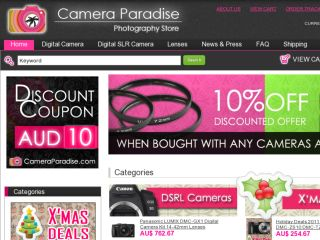 Shop at cameraparadise.com