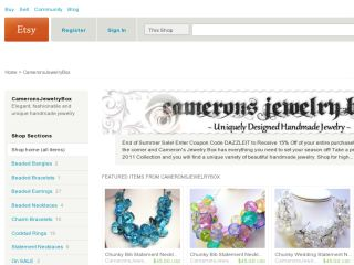 Shop at cameronsjewelrybox.etsy.com