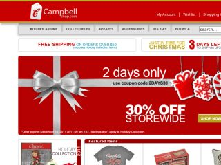 Shop at campbellshop.com