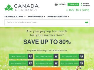 Shop at canadapharmacy.com