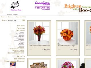 Shop at canadianflowershop.ca