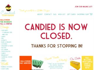 Shop at candied.ca