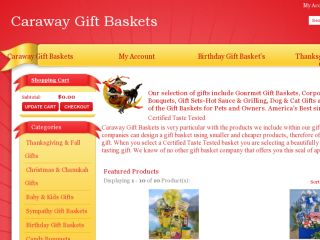 Shop at carawaygiftbaskets.com