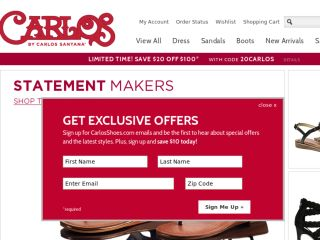 Shop at carlosshoes.com