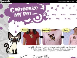 Shop at cartoonizemypet.com