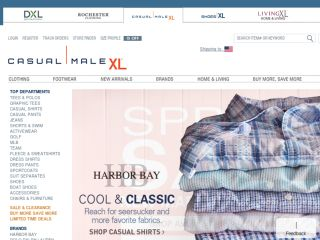 Shop at casualmale.com
