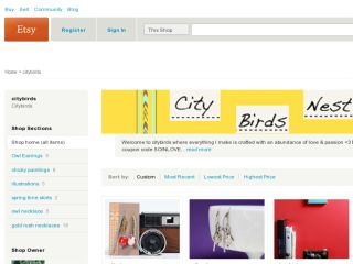 Shop at citybirds.etsy.com