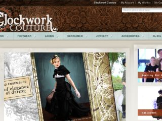 Shop at clockworkcouture.com