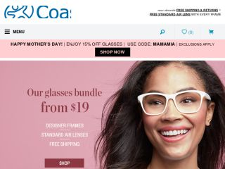 Shop at coastalcontacts.com