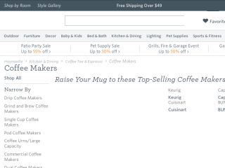 Shop at coffeemakers.com