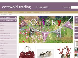 Shop at cotswoldtrading.com
