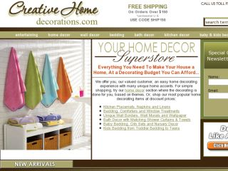 Shop at creativehomedecorations.com