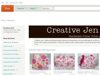 Shop at creativejenv.com