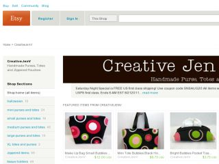 Shop at creativejenv.etsy.com