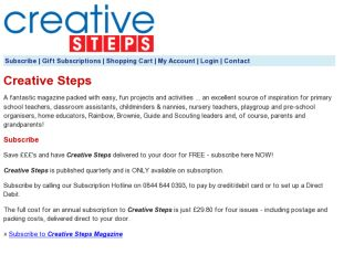 Shop at creativesteps.subscribeonline.co.uk