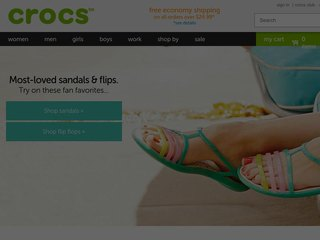 Shop at crocs.com