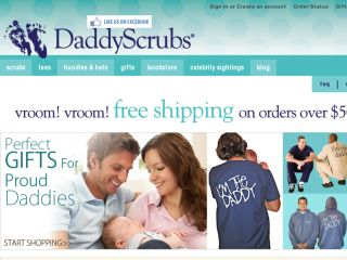 Shop at daddyscrubs.com