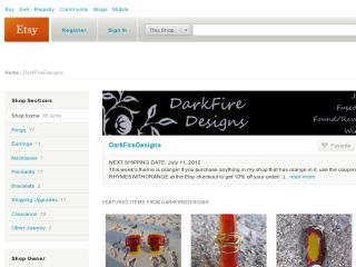 Shop at darkfiredesigns.etsy.com