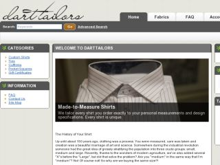 Shop at darttailors.com