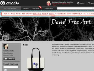 Shop at deadtreeart.com