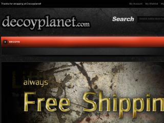 Shop at decoyplanet.com