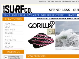 Shop at discountsurfco.com